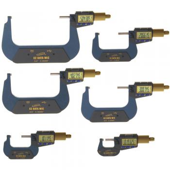 iGaging EZ DATA MIC – XL Display Digital Micrometer – range: 0~6″