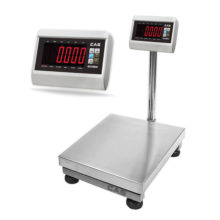 CAS DH series – XL Display – Platform Bench Scale
