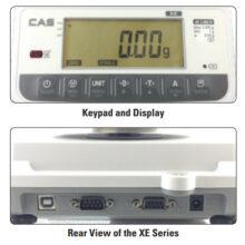 CAS, XE-H series – 0.1g – 6000g (6 kg) – Precision Balance