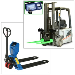 pallet jack scale, forklift weighing system