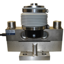 HM9B nickel plated alloy steel dual shear beam load cell, OIML approved (10t-50t)