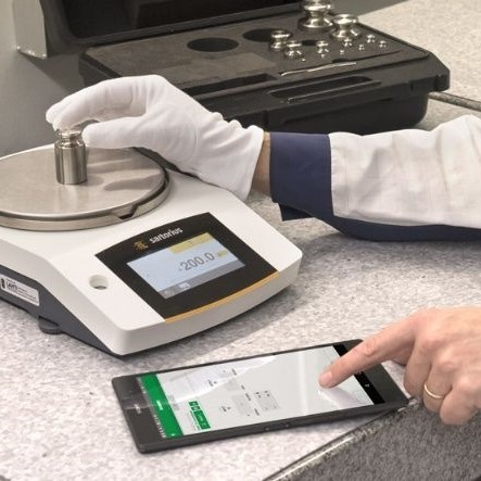 calibration of weighing scales and balances