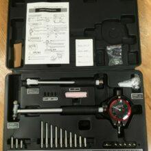 iGaging Dial Bore Gauge 0.7″-6″/0.0005″ – Deep Engine Hole Cylinder Measurement Gauge