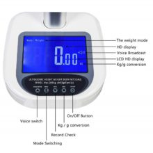 Metra BYH01 – BMI weight and height scale