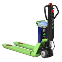 "TPW ""E-FORCE"": NEW Electric powered traction pallet truck scale – Dini Argeo™"
