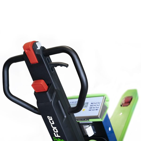 pallet truck manual lift weighing scale