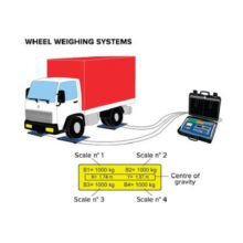 """Dini Argeo """"AF08"""": Software for 3590E indicators for Static Axle/Wheel Weighing with Various Pads"""