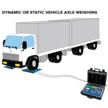 """Dini Argeo """"AF09"""": Software for 3590E/CPWE Indicators For Axle Weighing, Static/Dynamic (in-motion)"""
