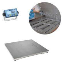 Dini Argeo DFWLB, Wash-down Platform Floor Scale, Stainless steel, Waterproof
