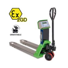 "TPW EX 2GD ""HAZARDOUS ZONE"" series Pallet Truck Scale ATEX – Dini Argeo"