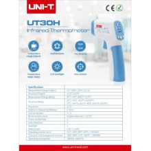Infrared Thermometer for Human – UNI-T UT30H